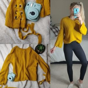 Sweaters - Yellow Bell Sweater
